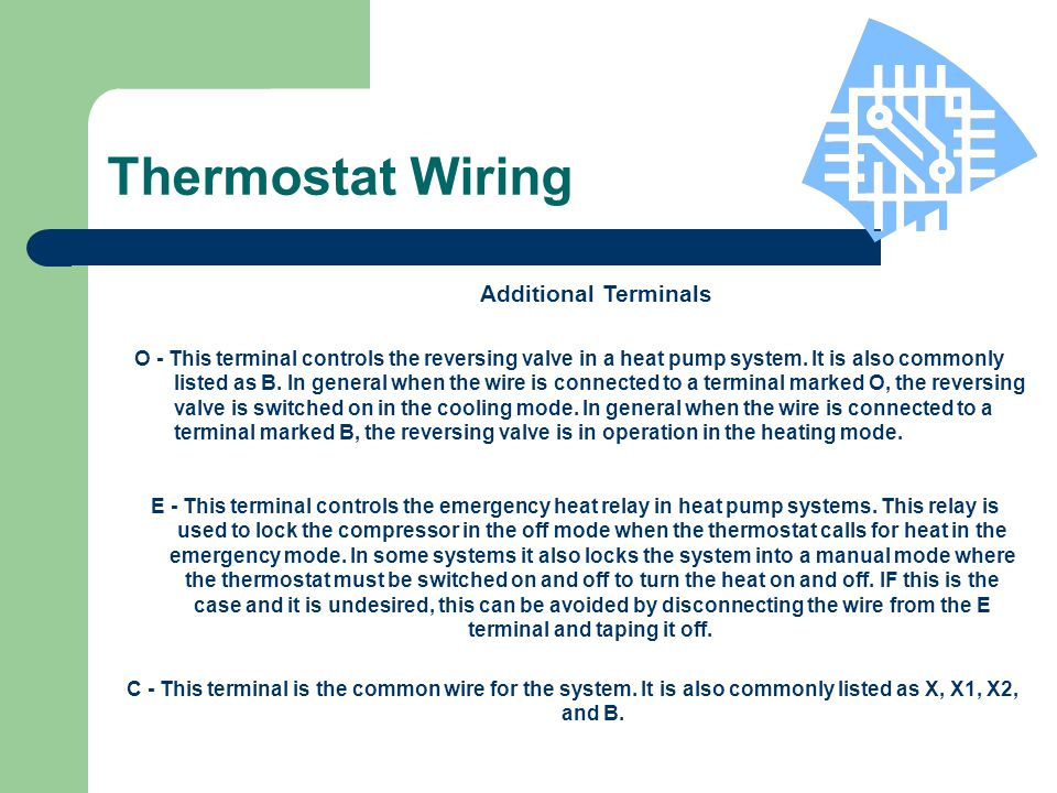 Hunter Thermostat Training - ppt video online download
