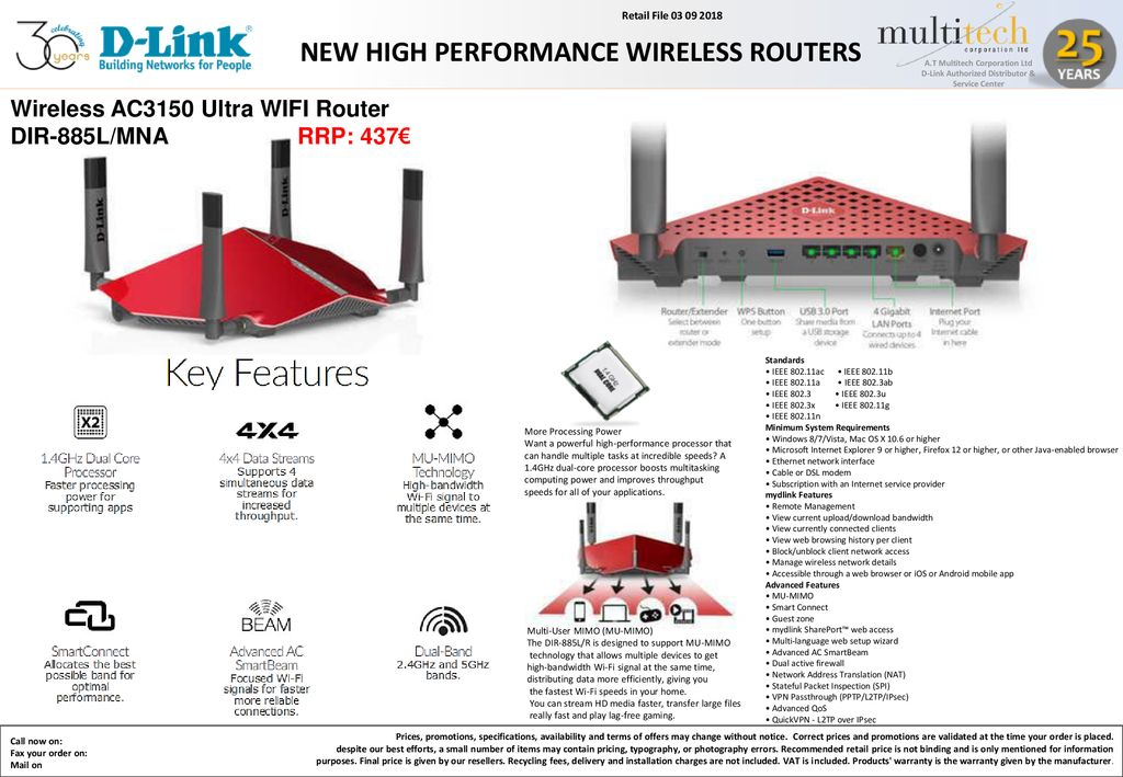 new high performance wireless routers