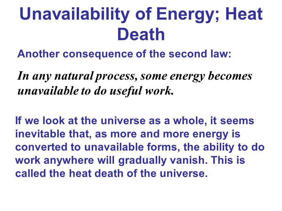 Unavailability of Energy; Heat Death