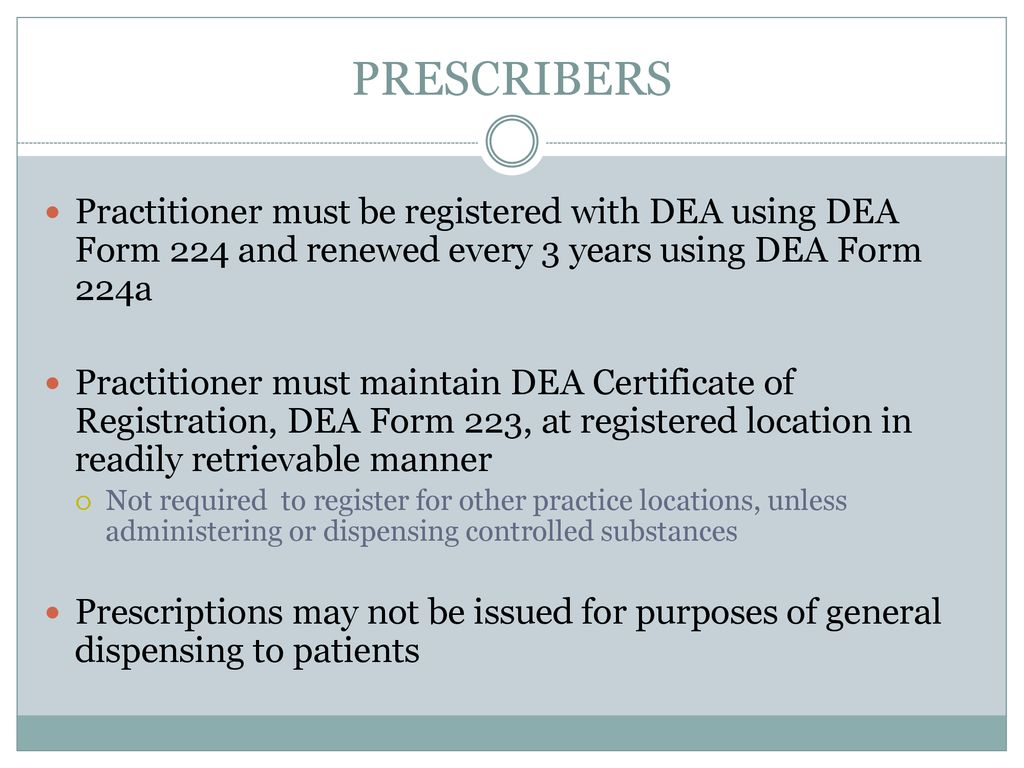 Controlled Substances Rules Regulations Ppt Download
