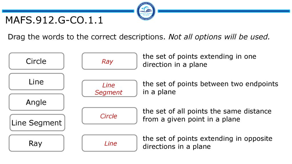 Try These Ccgps Geometry 1 Similarity Congruence And Proofs