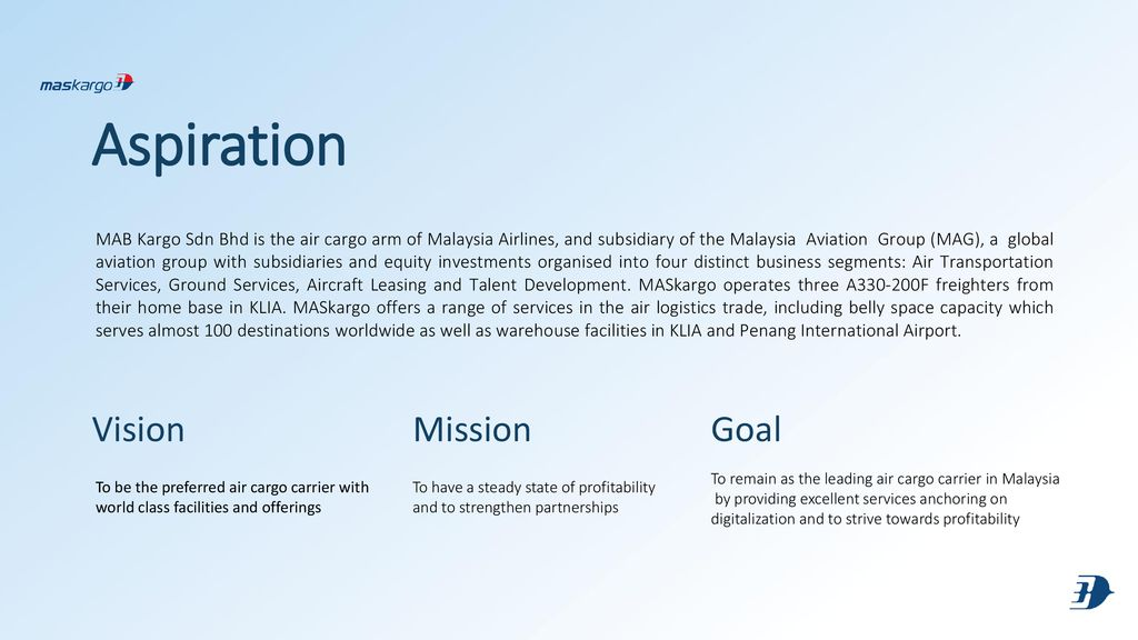 malaysia airlines vision and mission
