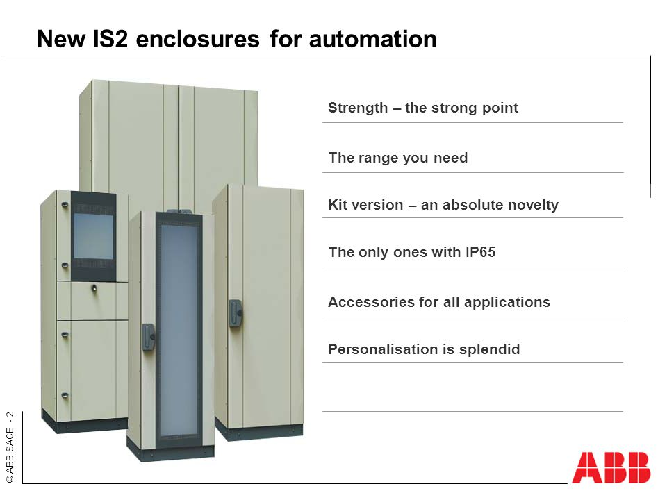 IS2 control and operation enclosures for automation - ppt video