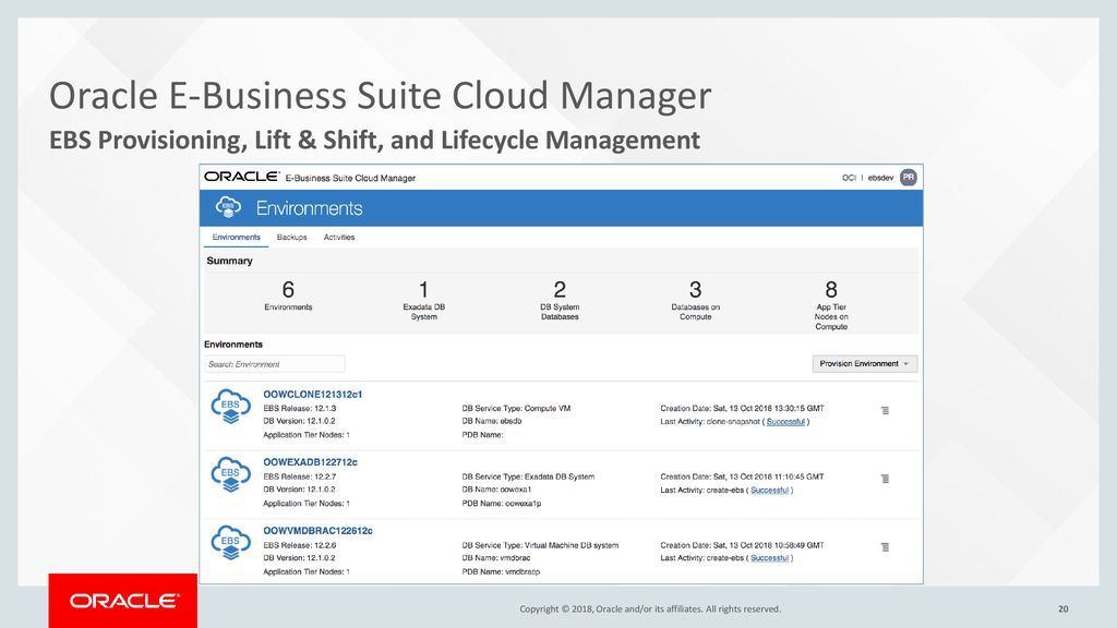 Cloud Manager App