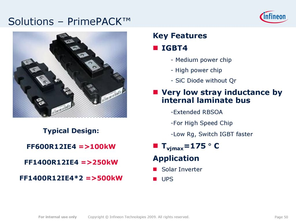 Igbt Modules For Wind Solar Power Application Ppt Download Circuit Also Inverter Diagram On 50 Solutions Primepack