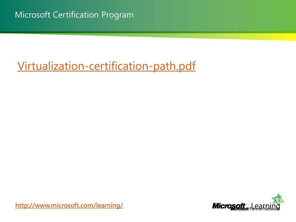 Seminario Tecnico Microsoft Server Virtualization Ppt Download