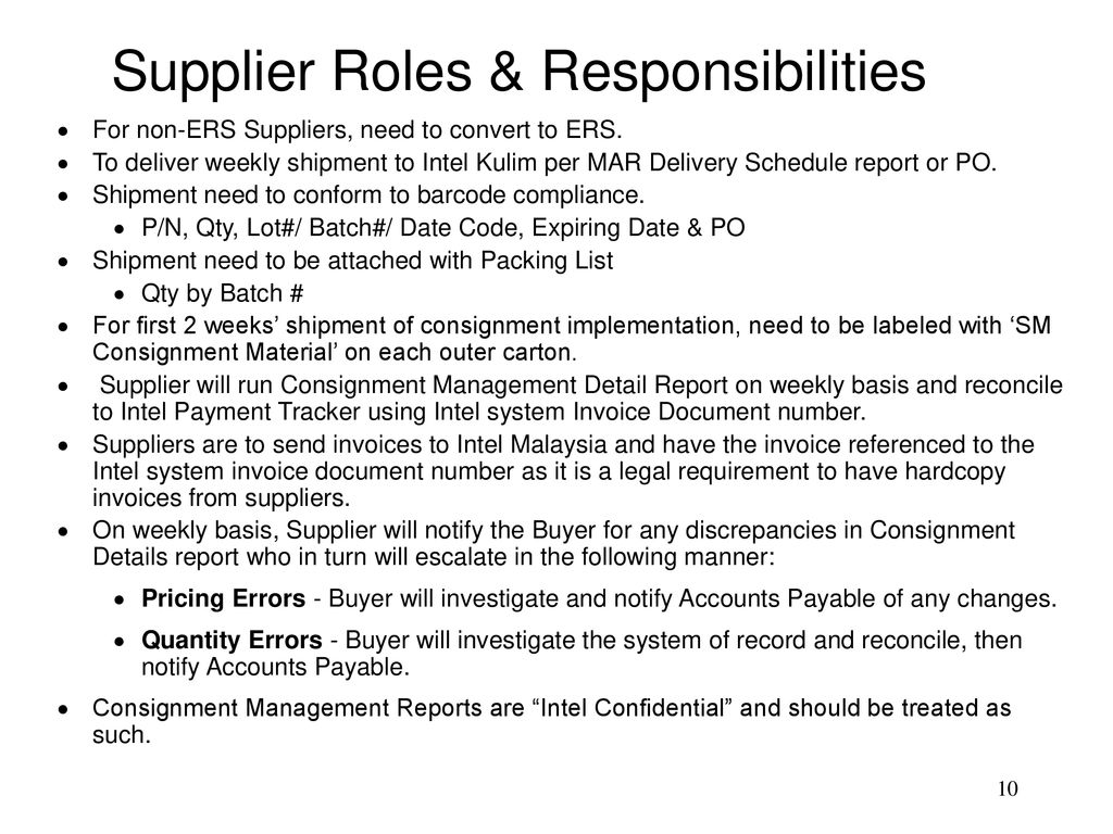 SM KM Consignment Model - ppt download