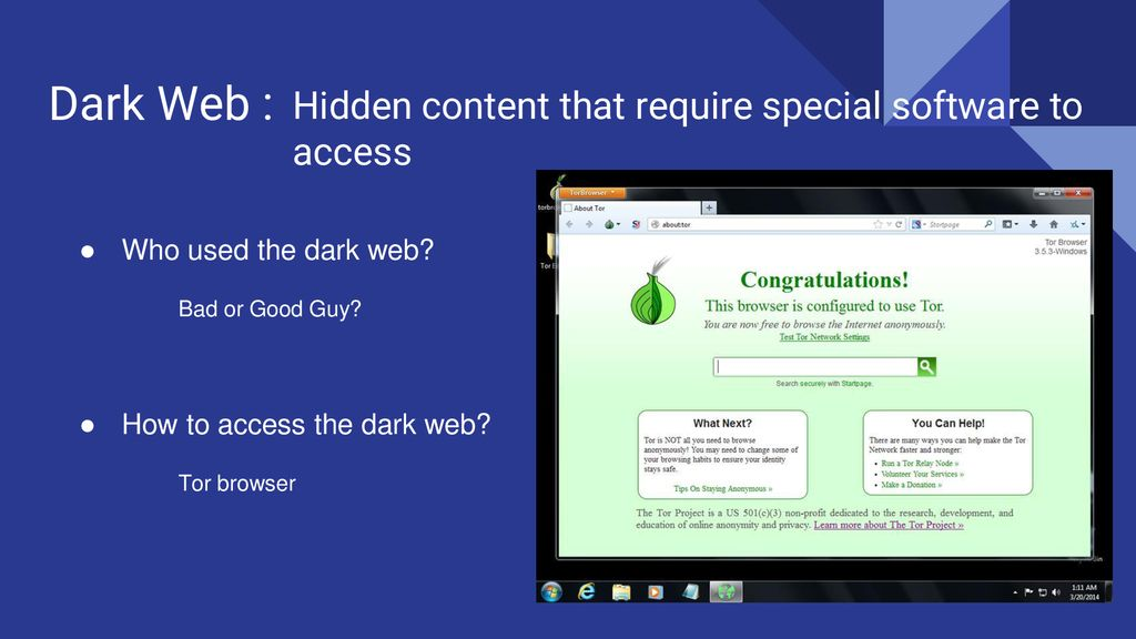 Dark Web, Deep Web, and I2P Dante Taylor, Dayton Chamberlin, Kade