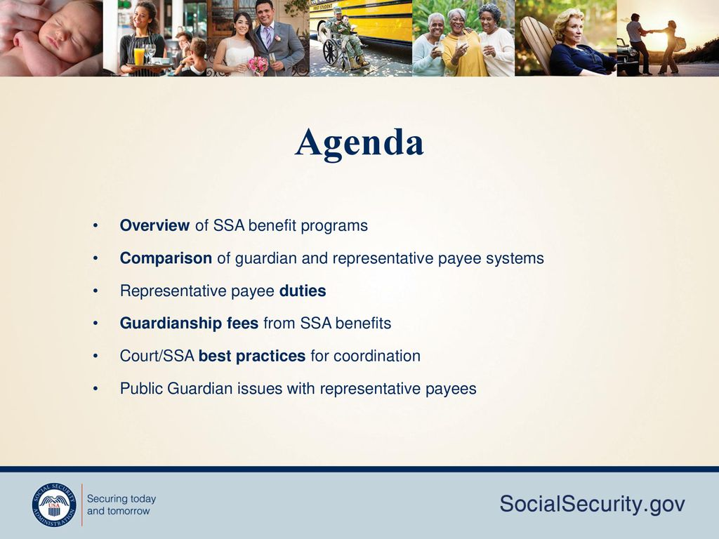 Social Security Representative Payees: Judicial Training