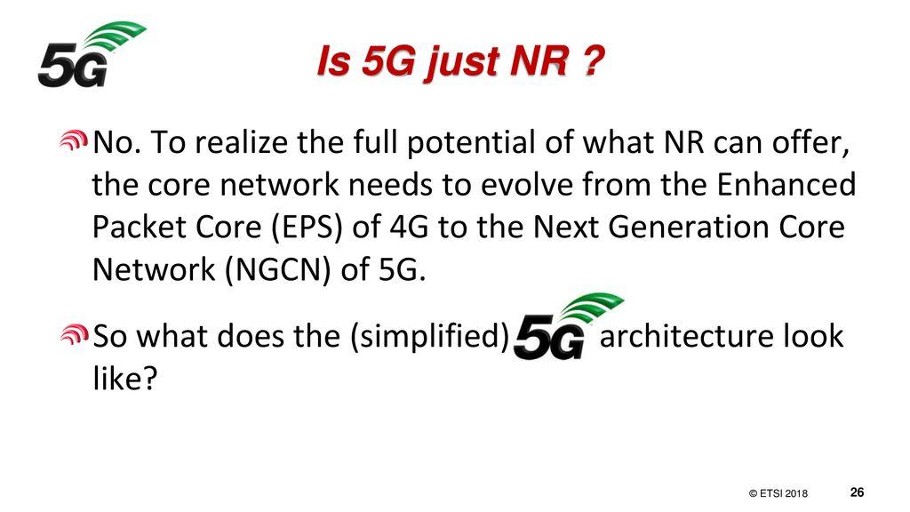 NR: 3GPP's 5G radio access technology - ppt download