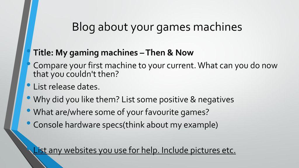 Computer Game Platforms & Technology - ppt download