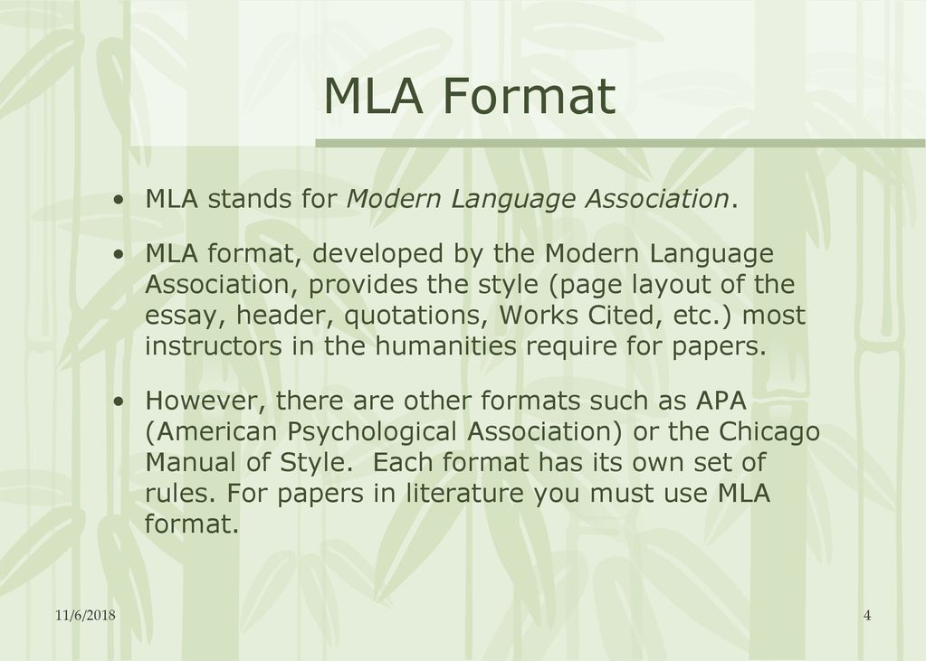 v creating a works cited page ppt download