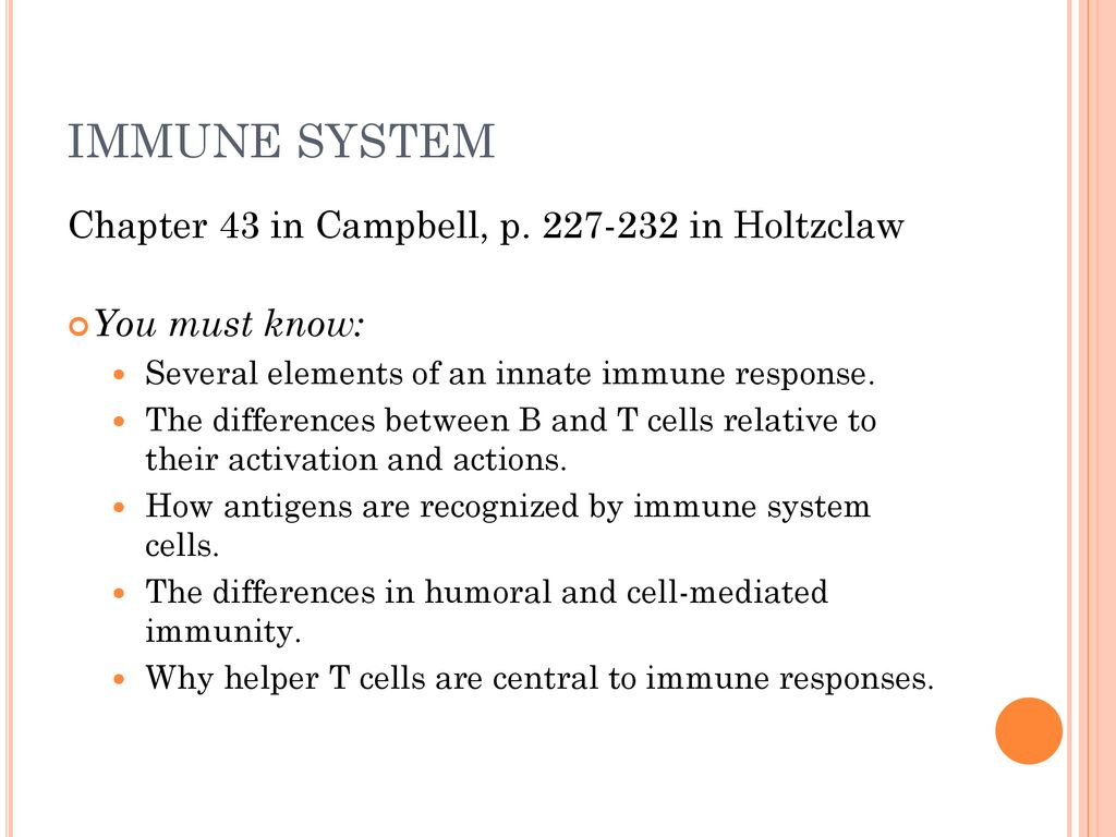 THE IMMUNE SYSTEM HOW DO ANIMALS PROTECT THEIR BODIES