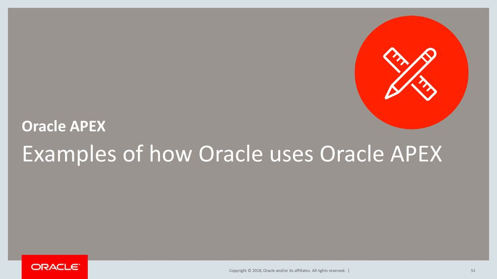 Oracle APEX 18 1 Overview Presenter's Name Presenter's Title - ppt