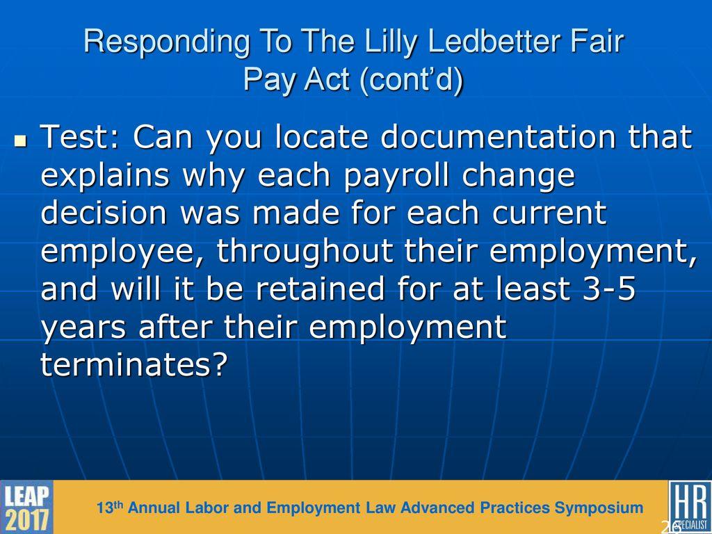lilly ledbetter fair pay act text