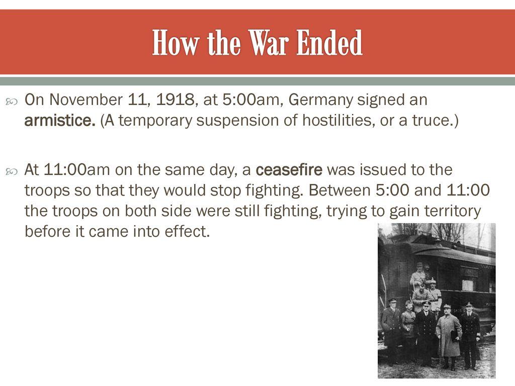 World War I ppt download