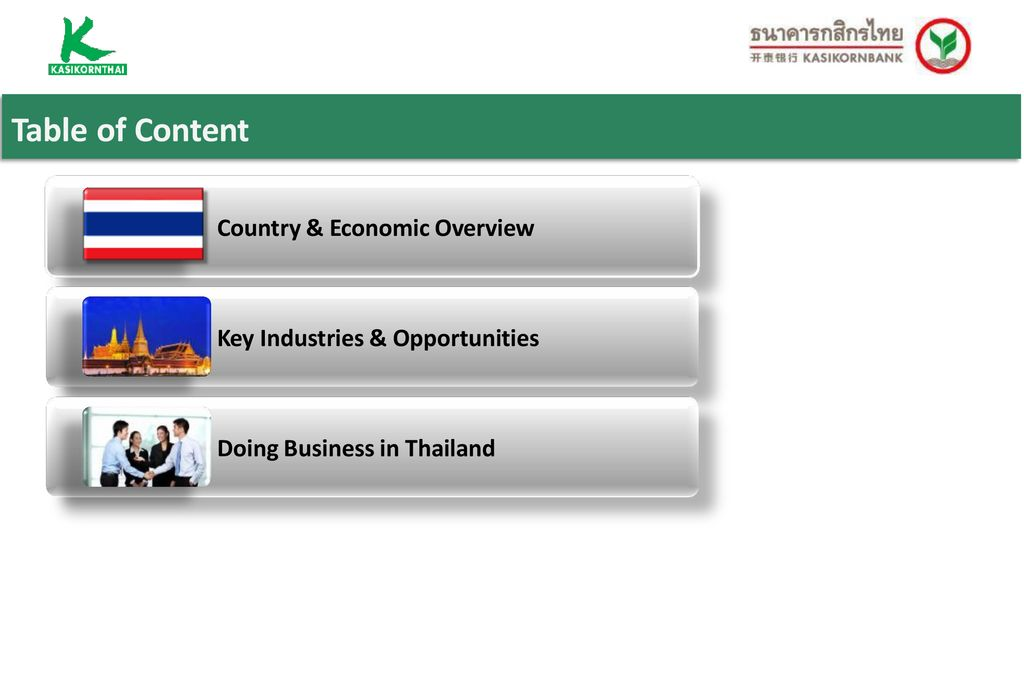 Thailand Investment Guide - ppt download