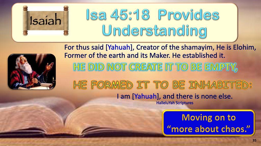 The Creation Week (Part 1) Gen 1:1-5 (Day 1) - ppt download