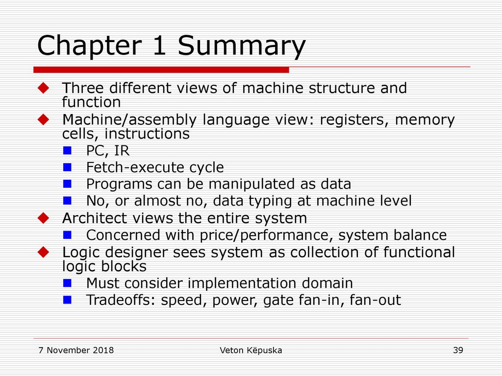 Computer Architecture - ppt download