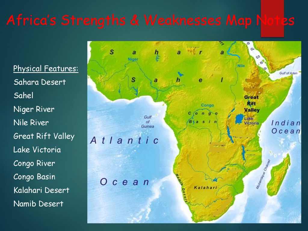 Africa S Strengths Weaknesses Map Notes Ppt Download