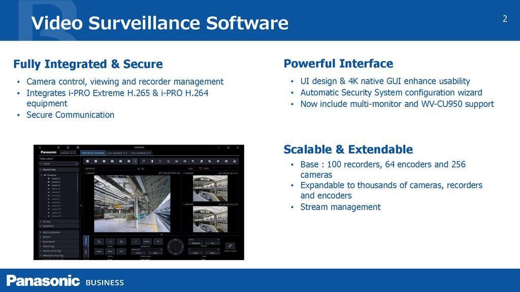 i-PRO Management Software - ppt download
