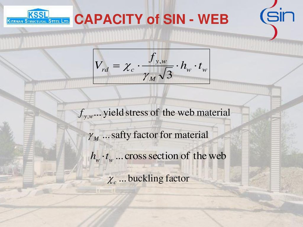 CAPACITY of SIN - WEB