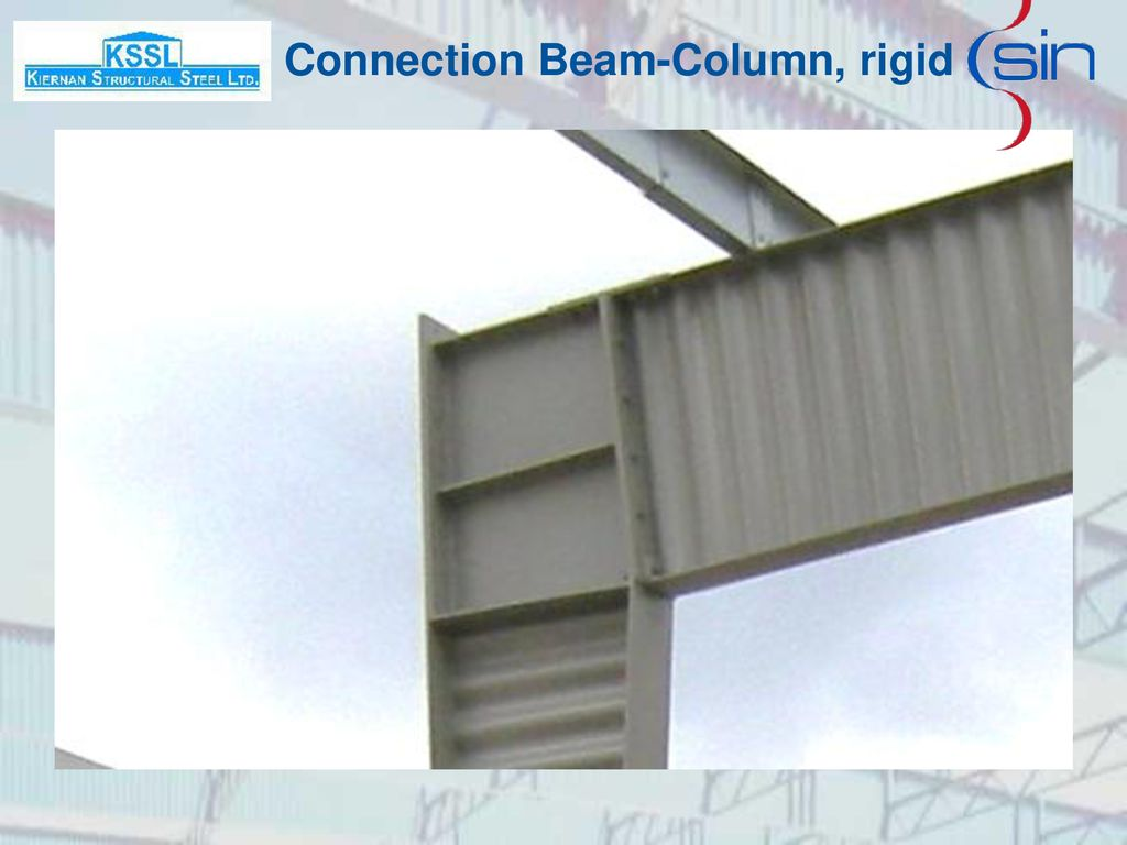 Connection Beam-Column, rigid