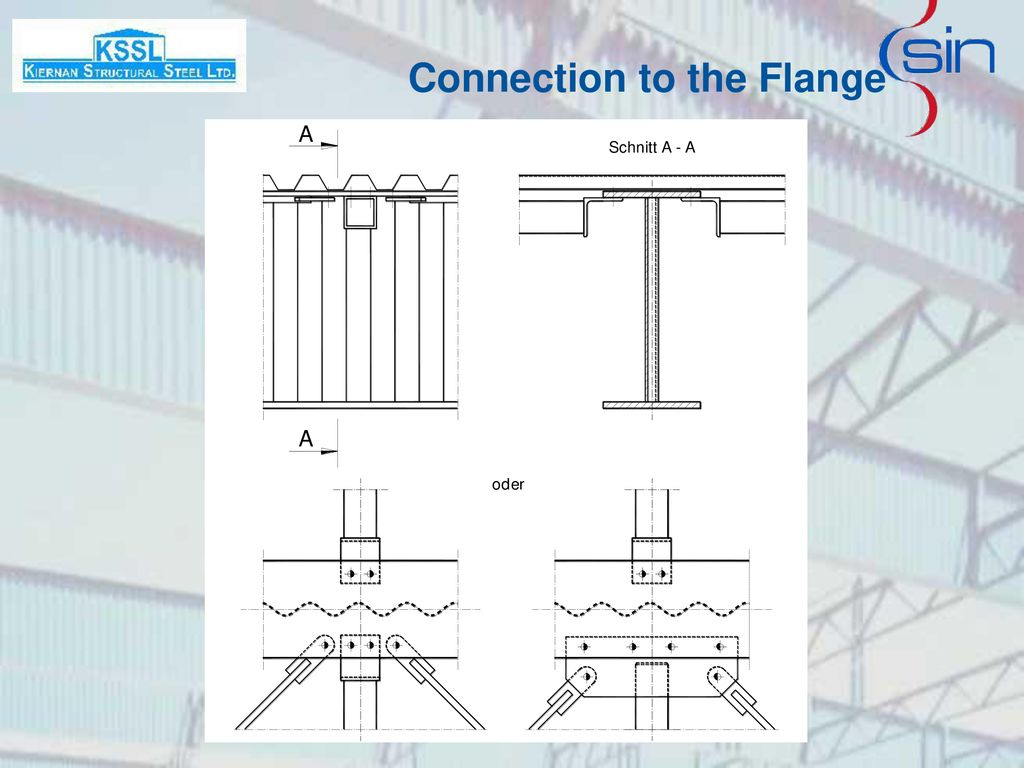 Connection to the Flange