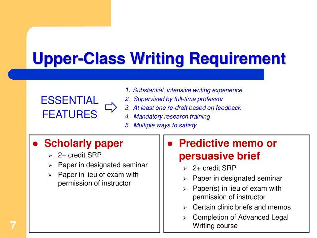 writing persuasive briefs