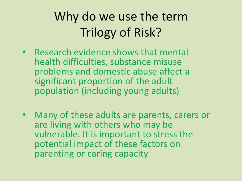 Trilogy of Risk PowerPoint – Tips on how to use it - ppt