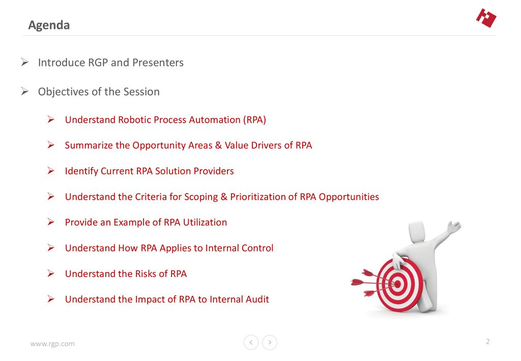 ROBOTIC PROCESS AUTOMATION (RPA) - The Impact on Internal Audit