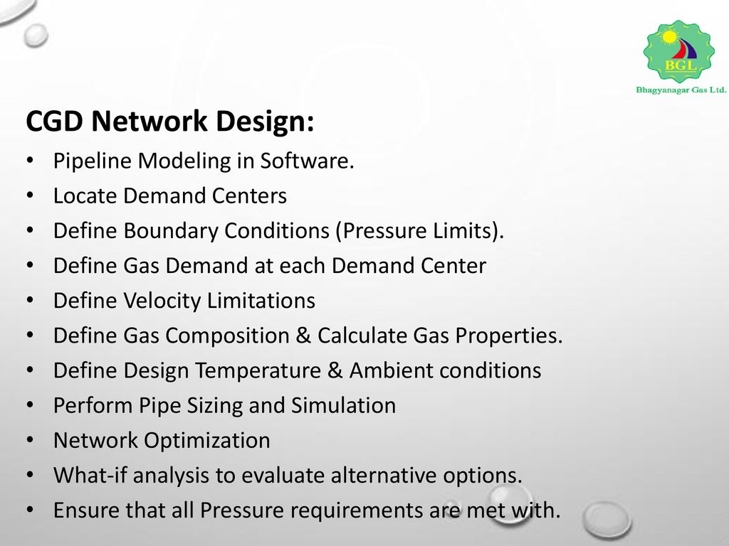 Overview of City Gas Pipe lines PSC th March ppt download
