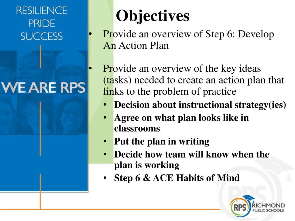 Create WISE Objectives