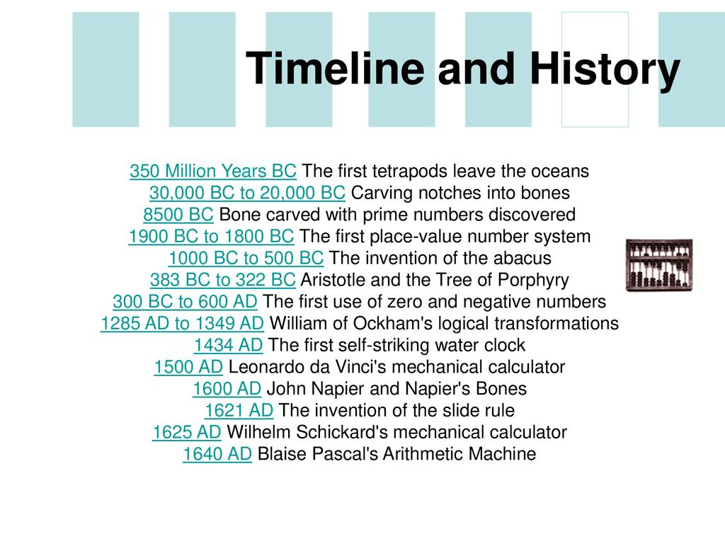 History Of Computing Overview Ppt Download