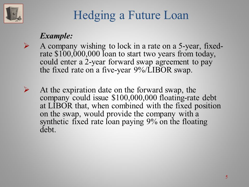 Swap Derivatives Forward Swaps And Swaptions Ppt Download