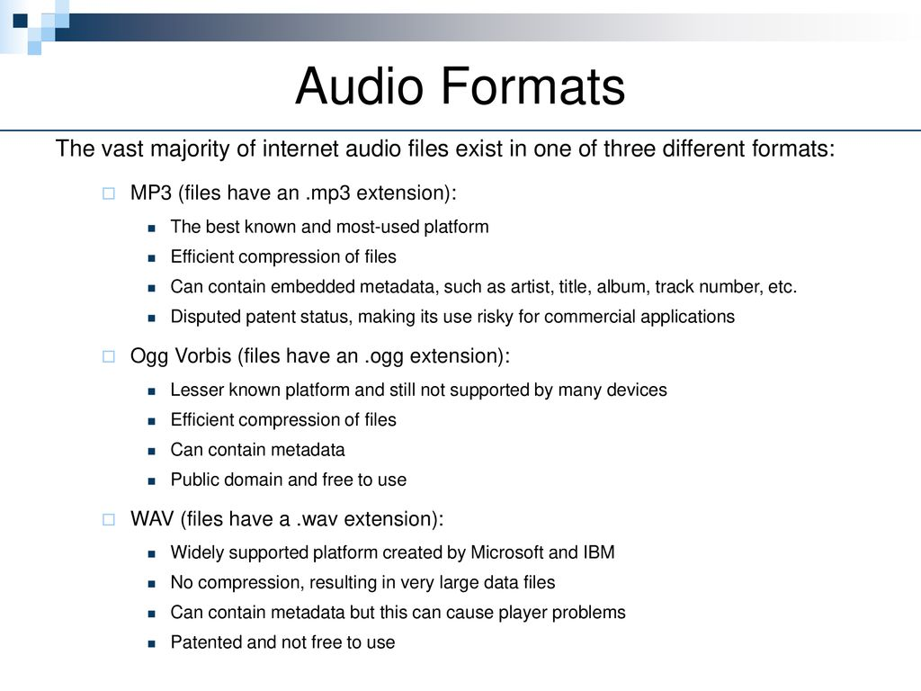 Playing Audio (Part 2)  - ppt download