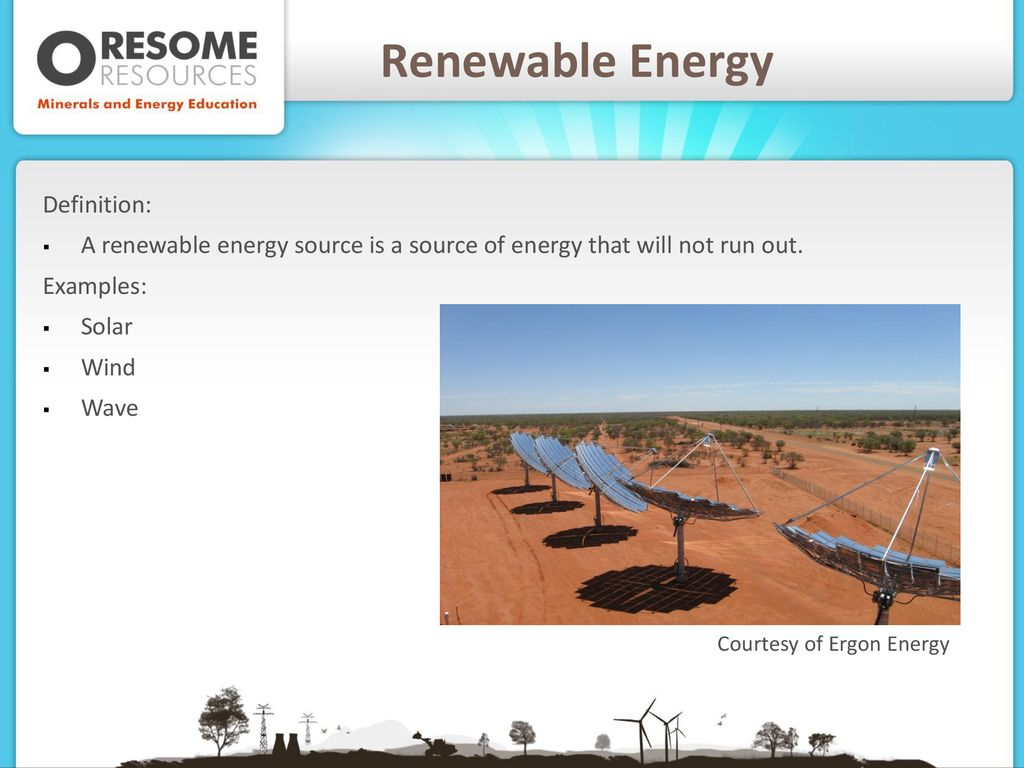 energy – renewable and non-renewable sources - ppt download