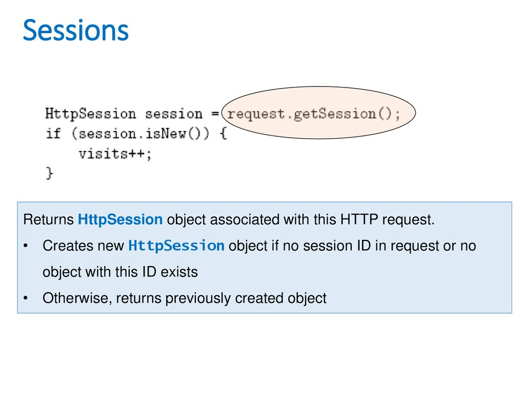 What is a http session