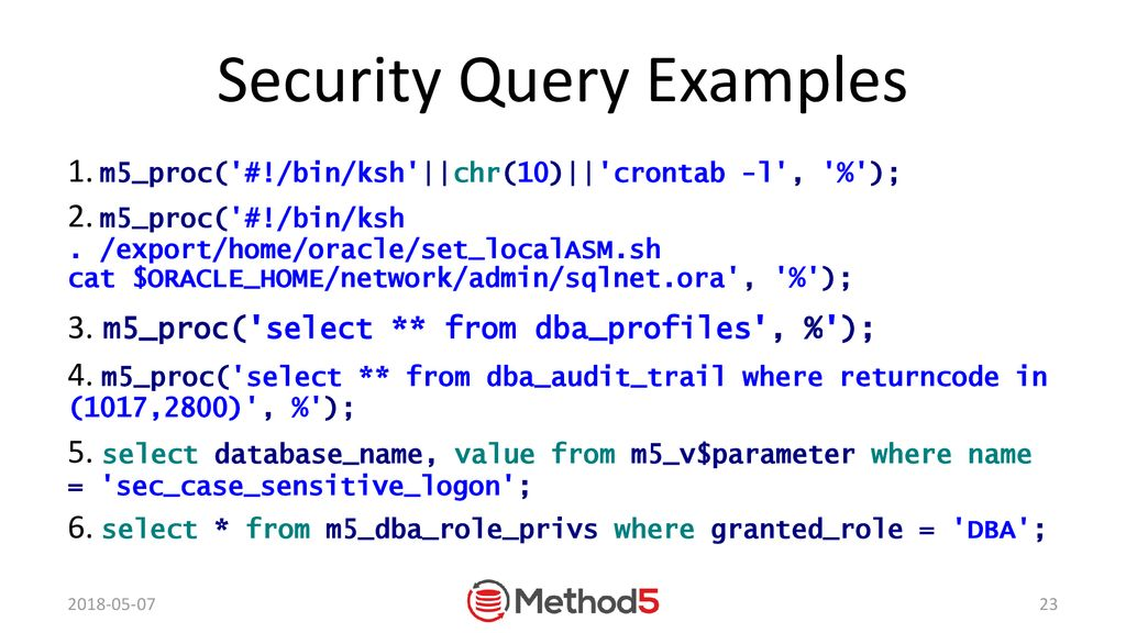 Automate SQL with Method5 Open Source Remote Execution - ppt
