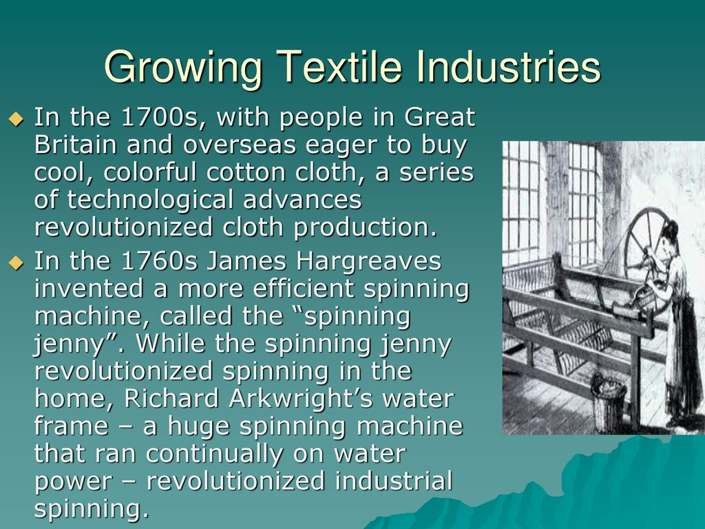 the water frame revolutionized production of cloth by | lajulak org