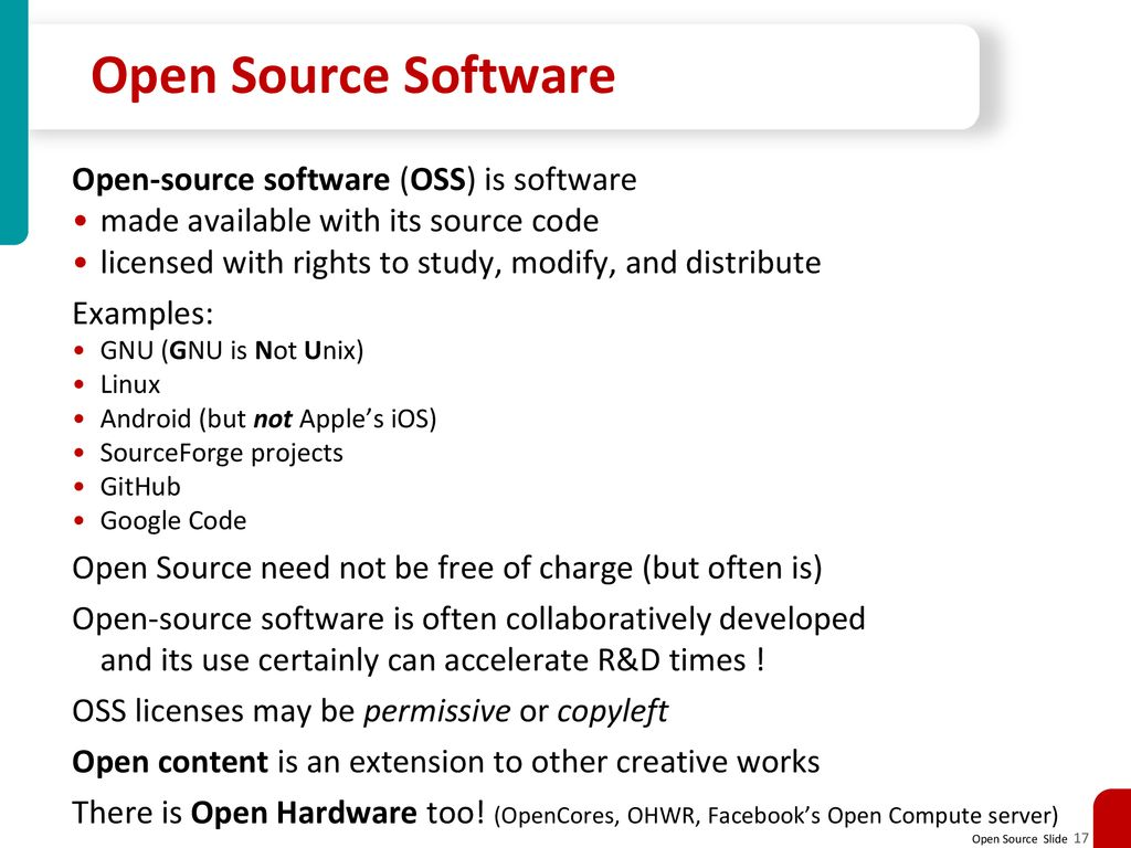 Open Source Software Yaakov (J) Stein  - ppt download