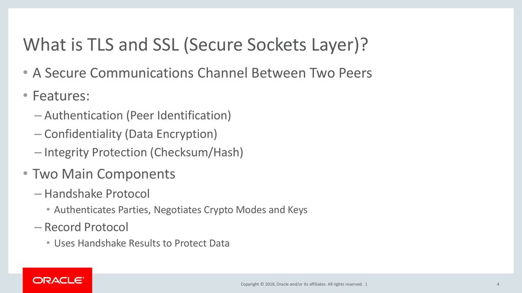 Transport Layer Security (TLS) v1 3 Support in Java - ppt download