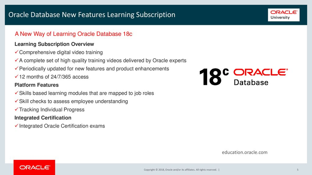Align Your Past Skills with the New Capabilities of Oracle Database