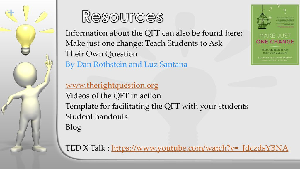 teaching students to ask effective questions using the qft ppt