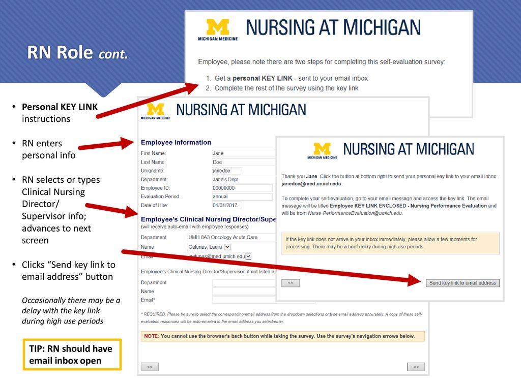 Nursing at Michigan Performance Evaluations - ppt download