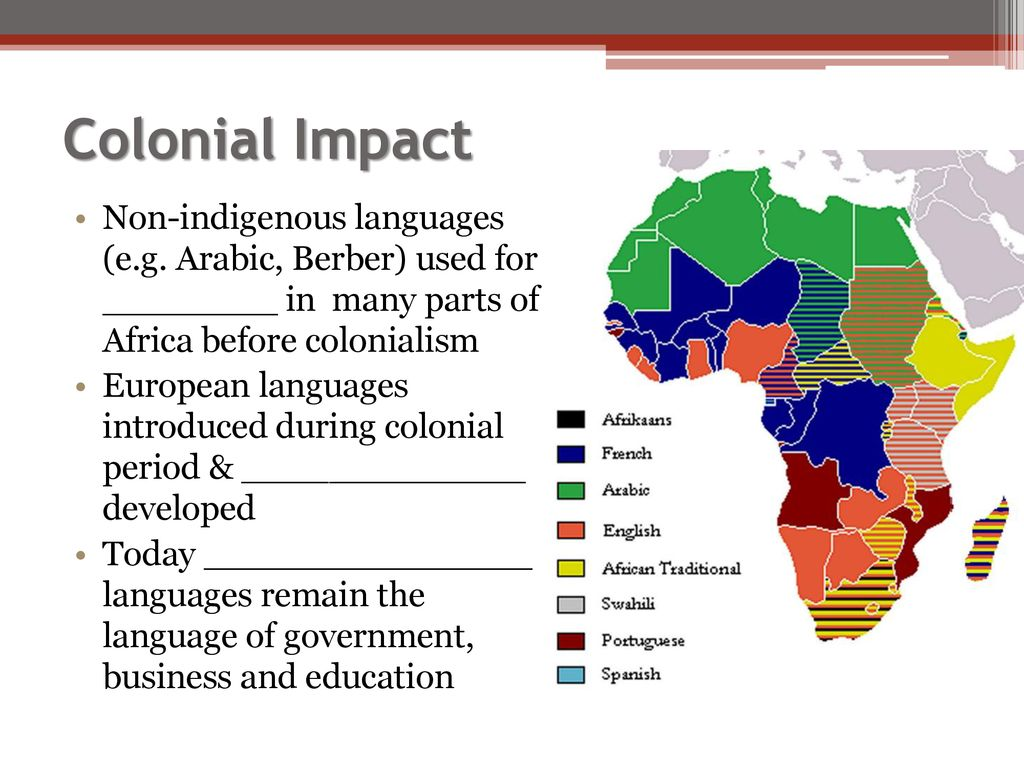 The Diverse Languages of Africa - ppt download