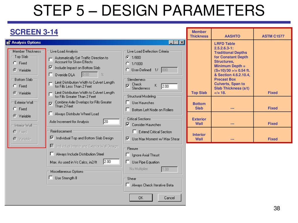 ETCULVERT EXAMPLE  - ppt download