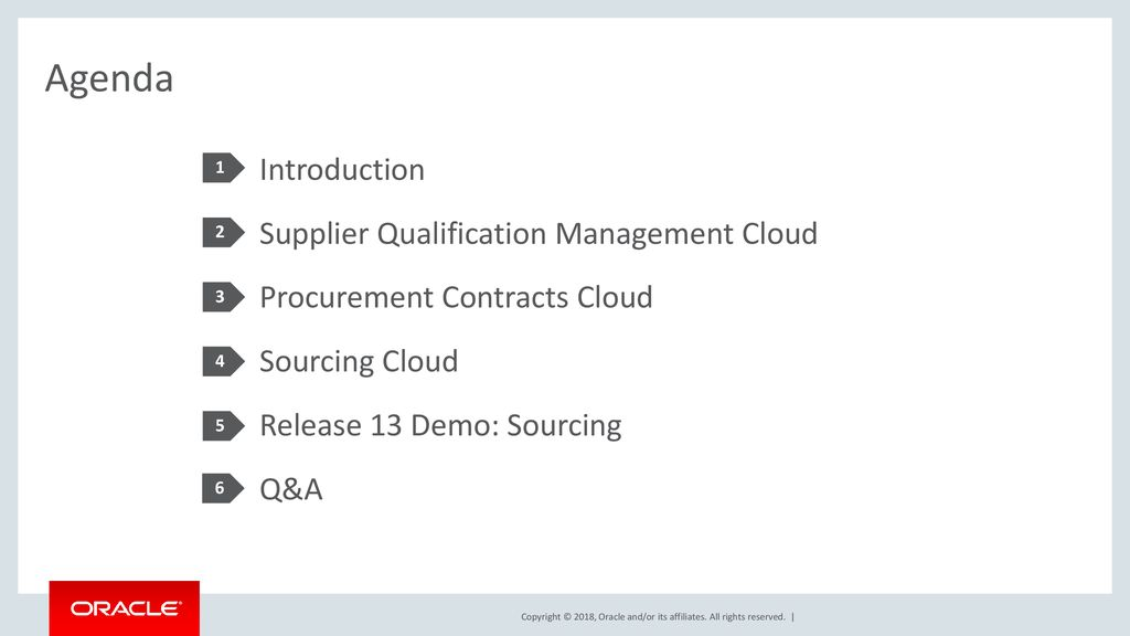 Oracle Supplier Management, Sourcing, and Contract