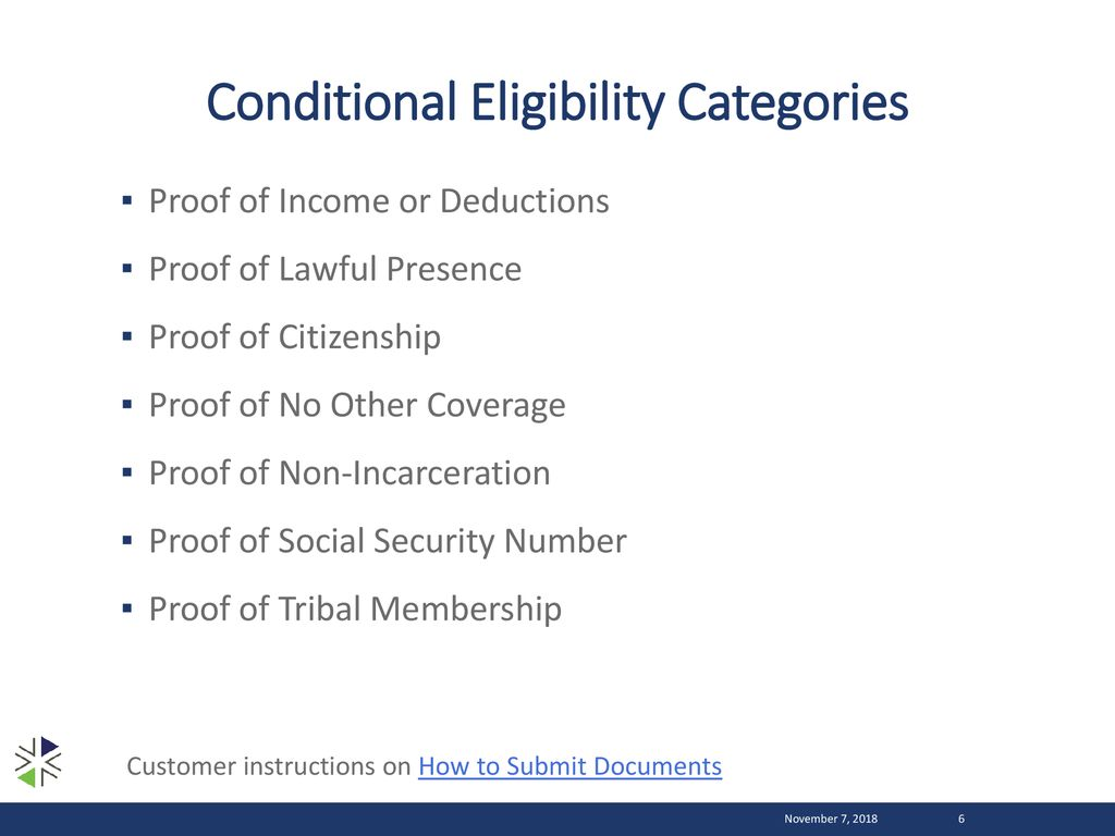 - Eligibility Ppt Conditional Verification Download