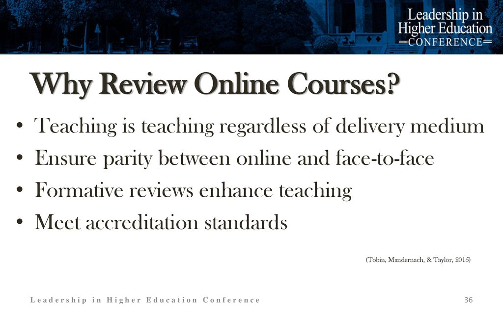 Best Practices for Online Course Design, Delivery, and Review - ppt
